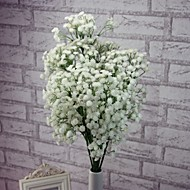 Gren Plastikk Brudeslør Bordblomst Kunstige blomster 67CM*15CM*15CM