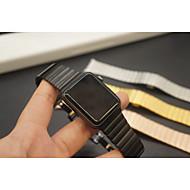 billiga Smart klocka Tillbehör-Klockarmband för Apple Watch Series 4/3/2/1 Apple fjäril spänne Metall Handledsrem