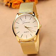 Kadın's Elbise Saat Moda Saat Quartz Alaşım Bant Altın Rengi