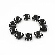 12 x 12 x 7 mm takt kontakter (10 stk)