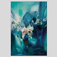 voordelige -Hang-geschilderd olieverfschilderij Handgeschilderde - Abstract Europese Stijl Modern Kangas