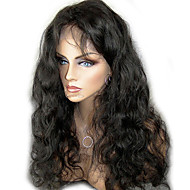"""Unprocessed 10""""-24"""" Virgin Brazilian Hair Natural Color Body Wave 130% Density Full Lace Wig/Lace Front Wig"""