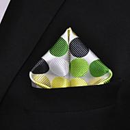 Muškarci Na točkice Color block Zabava Ležerne prilike Osnovni Osnovni, Umjetna svila - Kravata