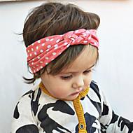 tanie Akcesoria dla dzieci-Akcesoria do włosów - Dla dziewczynek - Na każdy sezon - Bawełna - Opaski na głowę - White Black Gray Green Różowy