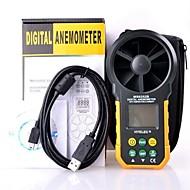 hyelec ms6252b多機能デジタル風速計/風量/ temperatur /湿度