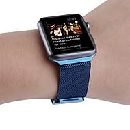 billiga Smart klocka Tillbehör-Klockarmband för Apple Watch Series 3 / 2 / 1 Apple Handledsrem Milanesisk loop Rostfritt stål