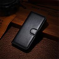 Til iPhone 8 iPhone 8 Plus iPhone 7 iPhone 7 Plus iPhone 6 iPhone 6 Plus iPhone 5 etui Etuier Pung Kortholder Med stativ Flip Heldækkende