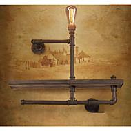 billige Vegglamper-Rustikk / Hytte Vegglamper Til Metall Vegglampe 110-120V 220-240V 40W