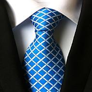 Per uomo Da serata / Da ufficio / Essenziale Cravatta A quadri