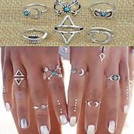 Dámské Sady šperků Boxer láska Velké šperky Módní Retro Přizpůsobeno Punkový styl bižuterie Slitina Geometric Shape Triangle Shape Šperky