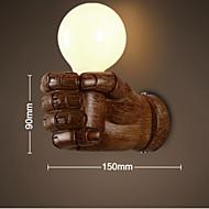 LED Vegglamper,Rustikk Resin
