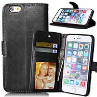 Pro iPhone X iPhone 8 iPhone 7 iPhone 7 Plus iPhone 6 iPhone 6 Plus Pouzdra a obaly Peněženka Pouzdro na karty se stojánkem Oboustranný