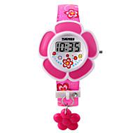 Børn Modeur Armbåndsur Digital LED PU Bånd Pink Lilla