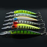 6 個 ルアー ミノウ ハードベイト 硬質プラスチック 海釣り 流し釣り/船釣り 一般的な釣り