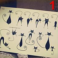 Serie de Bijuterii / Serie de Animale / Serie de Flori / Serie de totemuri / Altele - JT - Acțibilde de Tatuaj - Multicolor - Model -