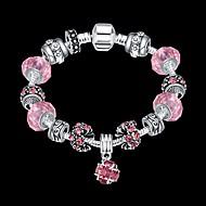 Kæde & Lænkearmbånd Unikt design Mode Smykker Lys pink Smykker For Julegaver 1 Stk.