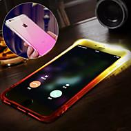 Käyttötarkoitus iPhone X iPhone 8 iPhone 8 Plus iPhone 6 iPhone 6 Plus kotelot kuoret Vedenkestävä LED salamavalo Takakuori Etui Color