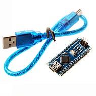 nano 3,0 atmel ATmega328P placa mini-usb cabo w / usb para arduino