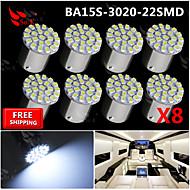 白22は3020 SMDのba15s 1156車の後部ターンライト信号電球12Vを率いて8倍超高輝度