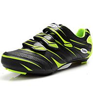 baratos Sapatos Masculinos-Homens Arrastão / Couro Ecológico Outono / Inverno Conforto Tênis Ciclismo Vermelho / Verde
