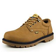 Masculino sapatos Couro Ecológico Inverno Primavera Verão Outono Conforto Solados com Luzes Botas Caminhada Cadarço Combinação para Casual