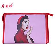 billiga Sminktillbehör-Sminkredskap Kosmetika förvaring Makeupväskor 1 pcs Klassisk Dagligen Smink Kosmetisk