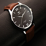 Muškarci Ručni satovi s mehanizmom za navijanje Kvarc Casual sat Koža Grupa Šarm Crna Smeđa