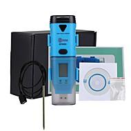 bside bth05 impermeável data logger ponto de temperatura e umidade de orvalho de três canais com interface USB e display LCD