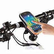 hesapli Bisiklet Gidon Çantaları-ROSWHEEL Cep Telefonu Çanta / Bisiklet Gidon Çantaları 4.8 inç Dokunmatik Ekran, Su Geçirmez Bisiklet için iPhone 5/5S / Diğer Benzer Boyut Telefonları / 600D Polyester / Su Geçirmez Fermuar