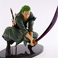 Figures Animé Action Inspiré par One Piece Roronoa Zoro 18 cm CM Jouets modèle Jouets DIY  Homme Garçon Fille
