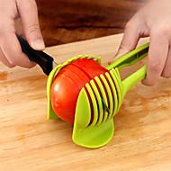 1 stuks Apple Oranje Aardappel Tomaat Citroengeel Cutter & Slicer For voor Vegetable Kunststof Creative Kitchen Gadget Noviteit