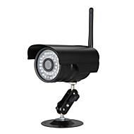 billige IP-kameraer-1.0 MP Utendørs with IR-kutt Dag Natt Primær Dag Nat Bevegelsessensor Dobbeltstrømspumpe Fjernadgang Vanntett Plug and play Wi-Fi