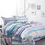 Fashion Queen Size 1pc Comforter case+2pcs Pillow Sham+1pcs Bedsheet Bedding Set