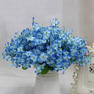 flores artificiais flores de qualidade de flores de seda flor alta de seda para decoração de casa 1pc / set