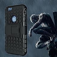 billiga Mobil cases & Skärmskydd-fodral Till Apple iPhone 6 iPhone 6 Plus Stötsäker med stativ Skal Rustning Mjukt PC för iPhone 6s Plus iPhone 6s iPhone 6 Plus iPhone 6