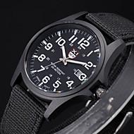 Muškarci Kvarc Ručni satovi s mehanizmom za navijanje Vojni sat Materijal Grupa Crna Bijela Smeđa Zelena