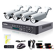 cheap DVR Kits-Liview® 4CH HDMI 960H Network DVR 900TVL Outdoor Day/Night Security Camera System