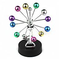 כדורים צבעוניים שולחן תנועה מתמיד פריס גלגל מסתובב מלאכת קישוט בית aa קישוט 4 x