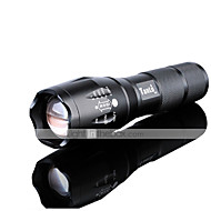 cheap Flashlights & Camping Lanterns-LED Flashlights / Torch LED 3000 lm 5 Mode LED with Battery and Charger Zoomable Adjustable Focus Rechargeable Waterproof Night Vision