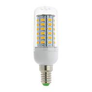E14 G9 GU10 B22 E12 E26 E26/E27 LED-kornpærer T 56 leds SMD 5730 Varm hvit Kjølig hvit 700lm 3000-6500K AC 85-265V