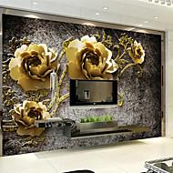 billige Tapet-Art Deco Tapet til Hjemmet Luksus Tapetsering , Andre Materiale selvklebende nødvendig bakgrunns Veggmaleri , Tapet