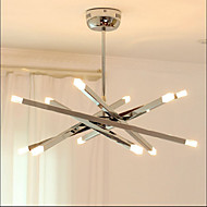 cheap Chandeliers-Country Mini Style Chandelier Uplight For Living Room Bedroom Dining Room Study Room/Office Kids Room Hallway Garage Warm White 110-120V