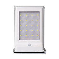 billige Utendørs Lampeskjermer-1 stk LED Solcellebelysning Dekorations Lys Soldrevet Batteri Sensor Oppladbar Vanntett