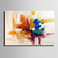 billiga Abstrakta målningar-Hang målad oljemålning HANDMÅLAD - Abstrakt Europeisk Stil Duk
