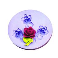 Bakeform Blomst For Kake For Småkaker For Terte Silikon Miljøvennlig Valentinsdag Gør Det Selv
