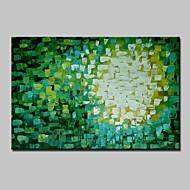 baratos -Mini tamanho pintado à mão abstrata pintura a óleo moderna em tela um painel pronto para pendurar