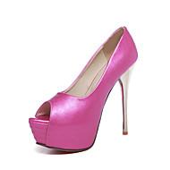 tanie Small Size Shoes-Damskie / Dla dziewczynek Derma Wiosna / Lato Szpilka Fuksja / Niebieski / Różowy / Ślub / Formalne spotkania