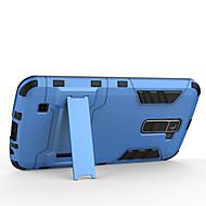 のために LGケース 耐衝撃 / スタンド付き ケース バックカバー ケース 鎧タフケース ハード PC LG