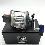 cheap Fishing-Baitcast Reels Trolling Reels 4.2:1 4 Ball Bearings Right-handed Sea Fishing Bait Casting Trolling & Boat Fishing - PUNCH 830