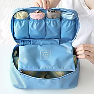 旅行かばんオーガナイザー 旅行用洗面道具バッグ 携帯用 小物収納用バッグ 多機能 のために クロス ブラジャー ファブリック / トラベル
